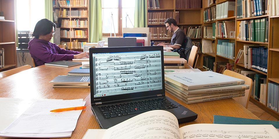 Studium Musikwissenschaft